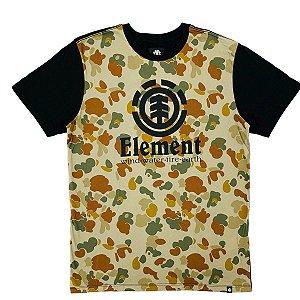 Camiseta Element Blend Multi cores Masculina