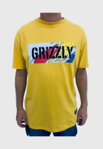 Camiseta Grizzly All That Stamp Gold Masculina