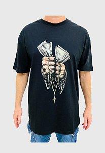 Camiseta DGK Faith Preta Masculina