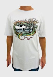 Camiseta DGK Black Metak Branca Masculina