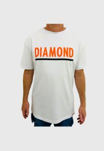 Camiseta Diamond Team Branca Masculina