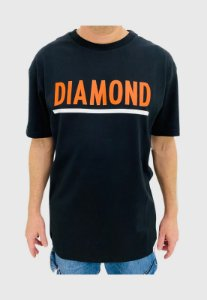 Camiseta Diamond Team Preta Masculina