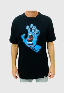 Camiseta Screaming Hand Preta Masculina