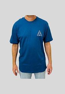 Camiseta Huf Silk Lupus Noctem Azul Marinho Masculina