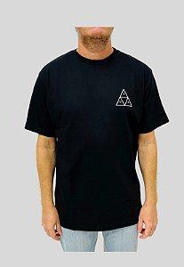 Camiseta Huf Silk Esentials TT Preto Masculina