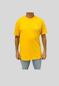 Camiseta Huf Silk Esentials TT Amarela Masculina