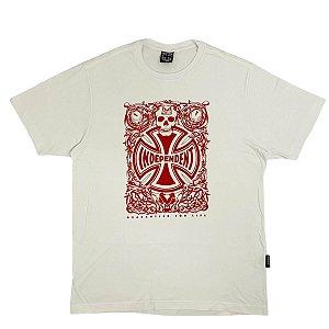 Camiseta Independent Branca Masculina