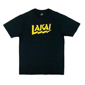Camiseta Lakai Strike Preto Masculina