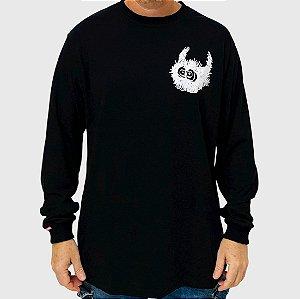 Camiseta High Manga Longa Spike Preto