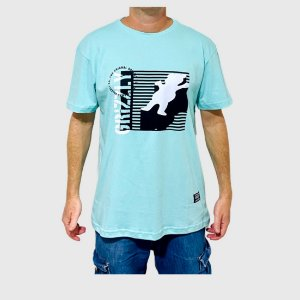 Camiseta Grizzly Lined Up Verde