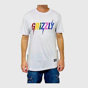 Camiseta Grizzly Incite Branco