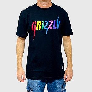 Camiseta Grizzly Incite Preto