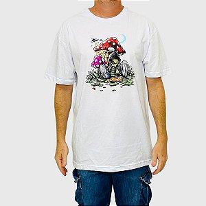 Camiseta DGK Loungin Branca