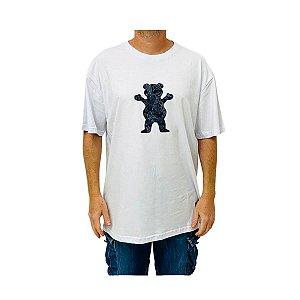 Camiseta Grizzly Paisley Og Bear Branco