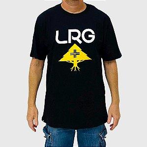 Camiseta LRG Stack Logo Preto