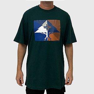 Camiseta LRG Shaded Verde