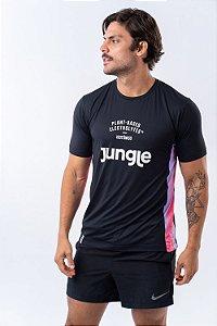 Camiseta Jungle Dry fit - Roxo