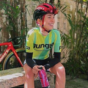 Camisa de Ciclismo Jungle Feminina