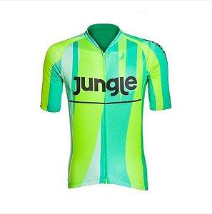 Camisa de Ciclismo Jungle Masculino