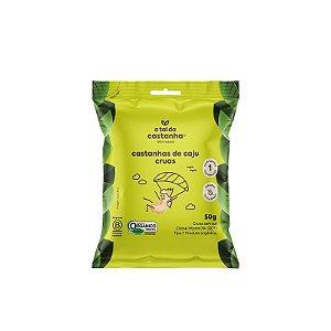 Snack de Castanha de Caju Crua Orgânica - 50g