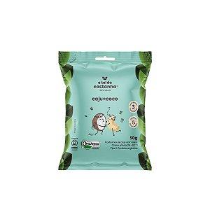 Snack de Castanha de Caju Assada com Coco Orgânica- 50g