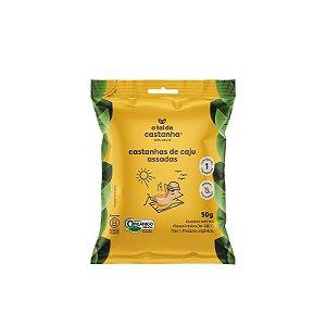 Snack de Castanha de Caju Assada Orgânica- 50g