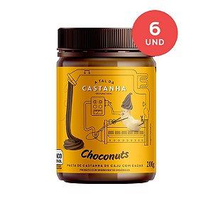 Pasta de Castanha Orgânica Choconuts 200g (Cx c/ 06)