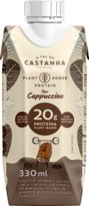 20 Gramas Proteína - Plant Power Protein - Tipo Capuccino - 1 unidade