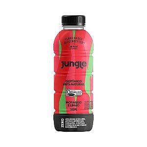 Isotônico 100% Natural Jungle sabor Morango e Limão Orgânico 500ml