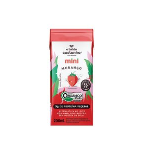 A Tal da Castanha Mini Morango 200ml