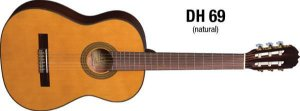 VIOLAO DH69NT NATURAL EAGLE NYLON CL AUN