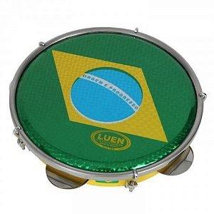 PANDEIRO 10 LUEN BAND BRASIL CROM VERD40066S