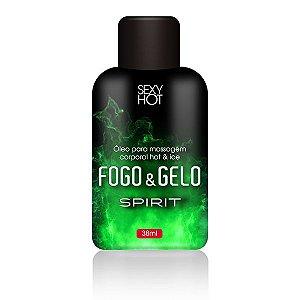 Óleo para massagem beijável FOGO E GELO - Spirit