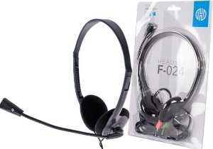 FONE COM MICROFONE HEADSET PRETO COM MICRO HOOPSON F-024