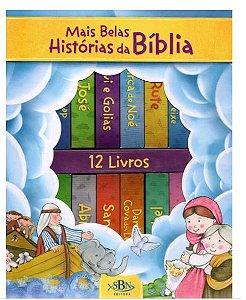 LIVRO MALETINHA AS MAIS BELAS HISTORIAS DA BIBLIA TODO LIVRO
