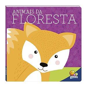 LIVRO ANIMAIS DA FLORESTA AMIGOS FOFOS TODO LIVRO