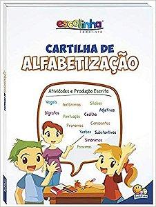 LIVRO ESCOLINHA CARTILHA DE ALFABETIZACAO -TODO LIVRO