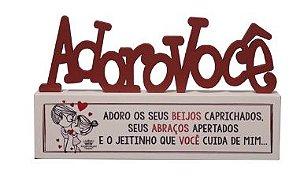 MADEIRINHA ADORO VOCE 11X18,5X3 ZENIR DISARZ