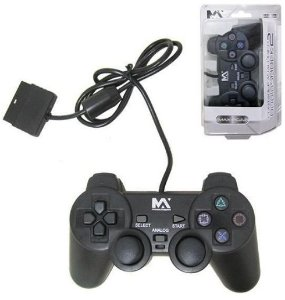 CONTROLE PLAYSTATION 2 MAXMIDIA MAX-PC22