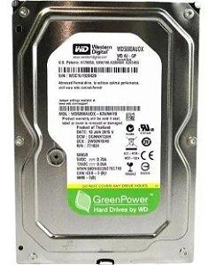 HD  500 GB 5900 SATA WESTERN WD5000AUDX