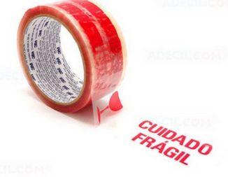 FITA EMPACOTAMENTO FRAGIL 45MM X 50M HB004379754