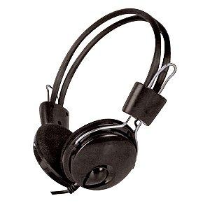 FONE COM MICRO HEADSET PRETO HAYOM HF2214