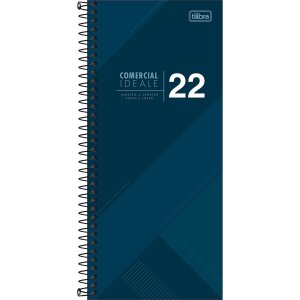 AGENDA 2022 ESPIRAL IDEALE COMERCIAL TILIBRA