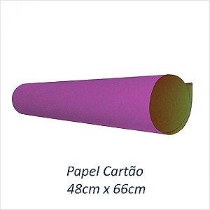 PAPEL CARTAO LILAS 48X66 PCT 20F VMP