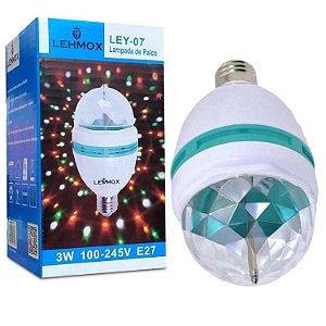 LAMPADA DE LED COLORIDA LEHMOX LEY-07