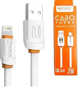 CABO USB APPLE 2 MT HREBOS HS-223