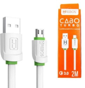 CABO USB V8 2 MT HREBOS HS-221
