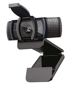 WEBCAM 15MP COM 2 MICROFONES FULL HD 1080P FOCO AUTOMATICO LOGITECH C920