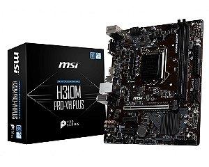 Placa mãe H310M PRO-VH PLUS 1151 DDR4