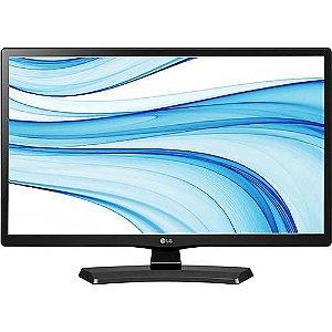 """TV LED 24"""" LG 24MT48DF-PS HD HDMI USB com Conversor Digital Integrado"""